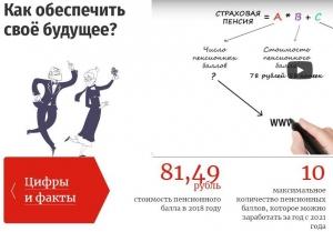 Пенсионные знания – в молодежные «массы»