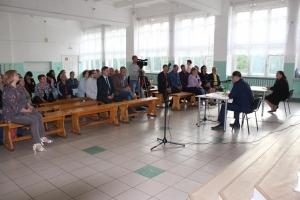 Ответы на вопросы жителей Подгорного микрорайона на встрече с главой города