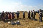 Выездной концерт для хлеборобов прошел на поле ООО «Бердская птицефабрика «Алмаз»