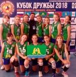 Искитимские волейболистки выступили на «Кубке Дружбы»