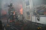 Торговый павильон горел в Ложке в воскресенье