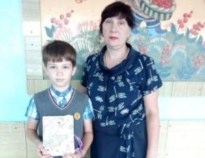 Третьеклассники из школы №3 Искитима стали победителями областного конкурса на лучшую открытку