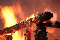 В деревне Шадрино произошел пожар в бане