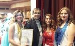 Любовь Казарновская и Бари Алибасов высоко оценили выступление вокалисток из Искитимского района