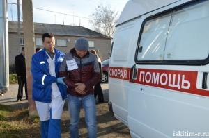 Слаженное взаимодействие оперативных служб района с ЕДДС во время командно-штабных учений на котельной п. Чернореченский