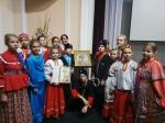 Детский коллектив из Искитима получил казачью нагайку