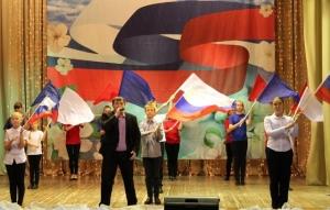 В ДК «Октябрь» концертом отметили ноябрьский праздник