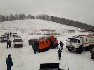 Под Новососедово спасатели эвакуировали  туристов, остановившихся из-за непогоды