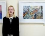 Марины искитимских художниц вошли в число лучших на областной выставке