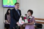 Заведующую детским садом «Сказка» в Искитиме поблагодарили за многолетний труд