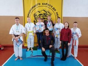 Каратисты из Искитима стали призерами турнира «Золотая осень – 2018»