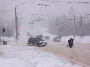 В области объявлено экстренное предупреждение: синоптики прогнозируют снег, метели, гололед