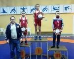 Евсинский спортсмен Денис Ковалев занял первое место на этапе турнира по греко-римской борьбе «Арсенал»