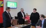 Раисе Полянской и Андрею Федотову вручили награды Законодательного Собрания