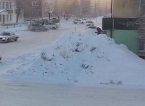 Крыши зданий и запасные выходы должны быть очищены от снега