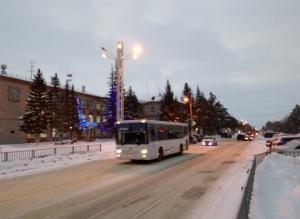 Как будет ходить пассажирский транспорт в Искитиме в период новогодних праздников