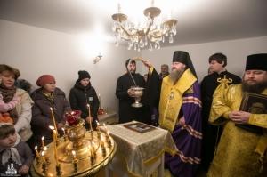 В Быстровке освящен храм