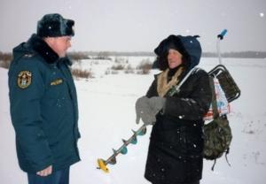 В Новосибирской области началась акция «Безопасный лёд»