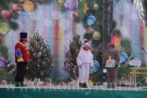 В Искитиме открыли главную городскую елку