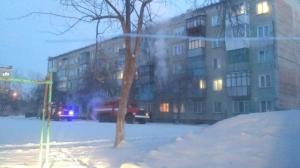 В п. Линево сегодня утром при пожаре в жилом доме погибли 2 человека