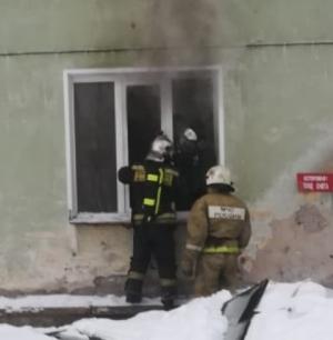 В Искитиме горела квартира