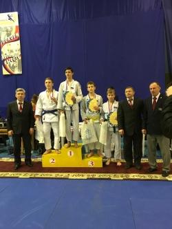 Дзюдоисты из Искитима завоевали медали новогоднего турнира