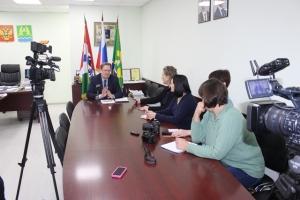 В Искитиме глава города рассказал о ремонте дорог и росте зарплат