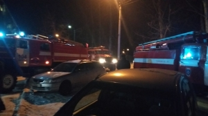В поселке Линево горела квартира