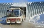Дальние рейсы и школьные маршруты были отменены в районе из-за морозов