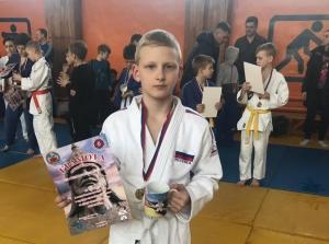 Искитимский дзюдоист завоевал серебряную медаль «Алтайского Витязя»