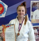 Дзюдоистка из Искитима завоевала бронзу Первенства Сибири