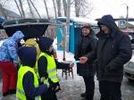 Акцию «Весенние каникулы» провели сотрудники Госавтоинспекции и ЮИДовцы
