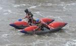 Порог Топор на реке Шипуниха преодолели на «двойках» и «четверках»