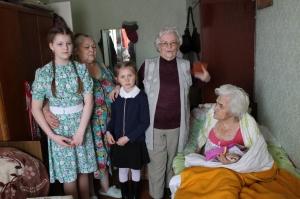Акция «В гости к ветерану» прошла в Искитиме