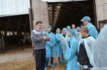 18 подростков побывали на экскурсии в Искитимском центре профессионального обучения и в АО «Агрофирма «Лебедевская»