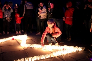 """Празднование Дня Победы в Искитиме завершилось традиционной акцией """"Свеча Памяти"""""""