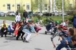 Всероссийская акция «Зарядка со стражем порядка» в Искитимском районе