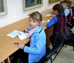 В Искитимском музее детей знакомили с буквами алфавита Кирилла и Мефодия
