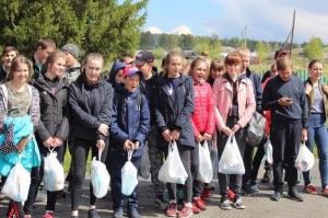 Эковолонтёры прошлись по природным заповедникам Новосибирской области   