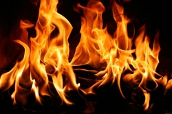 В селе Мосты Искитимского района горел частный дом