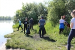 Участники акции «Чистый берег» в Искитиме собрали 75 мешков мусора