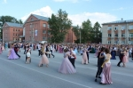 На главной площади Искитима прошел парад выпускников