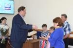 Искитимской семье вручили медаль «За любовь и верность»