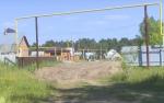 В Заречном микрорайоне строят детскую площадку