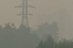 Воздушные массы донесли дым от пожаров в Красноярском крае и Иркутской области до Искитима