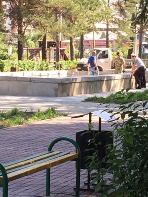В День города включат фонтаны в Искитиме