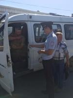 В Искитиме госавтоинспекторы проверили соблюдение Правил дорожного движения водителями автобусов