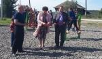 В селе Мосты открыли уличную тренажерную площадку