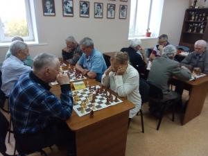 Турнир по шахматам, посвященный Дню пожилого человека