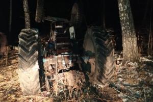 В Искитимском районе погиб тракторист